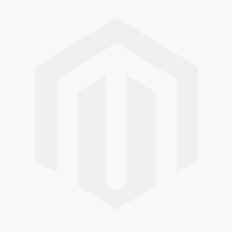 Blue scarf with pink flock heart print